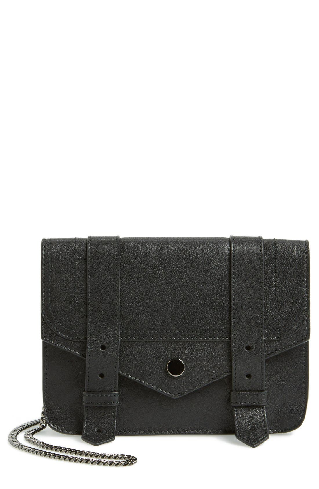 Alternate Image 1 Selected - Proenza Schouler 'Large PS1' Leather Crossbody Wallet