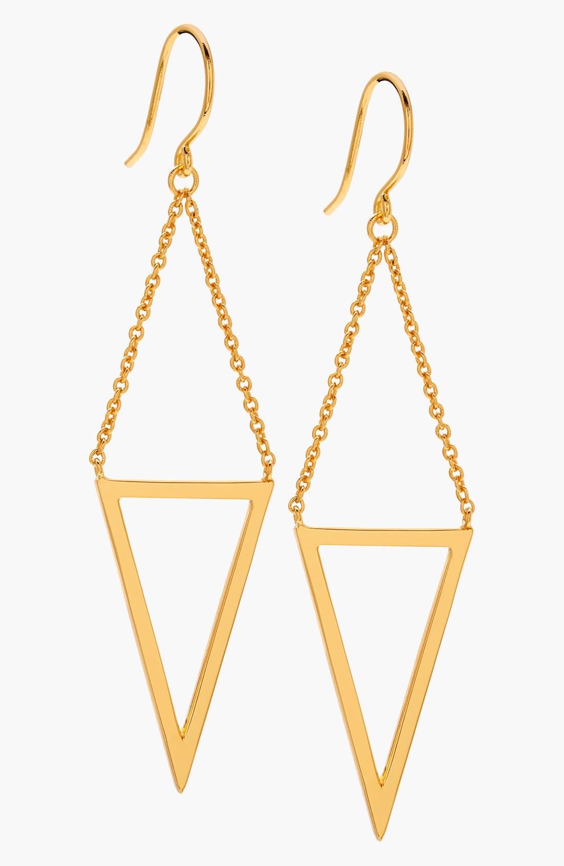 Main Image - gorjana 'Mika' Cutout Drop Earrings