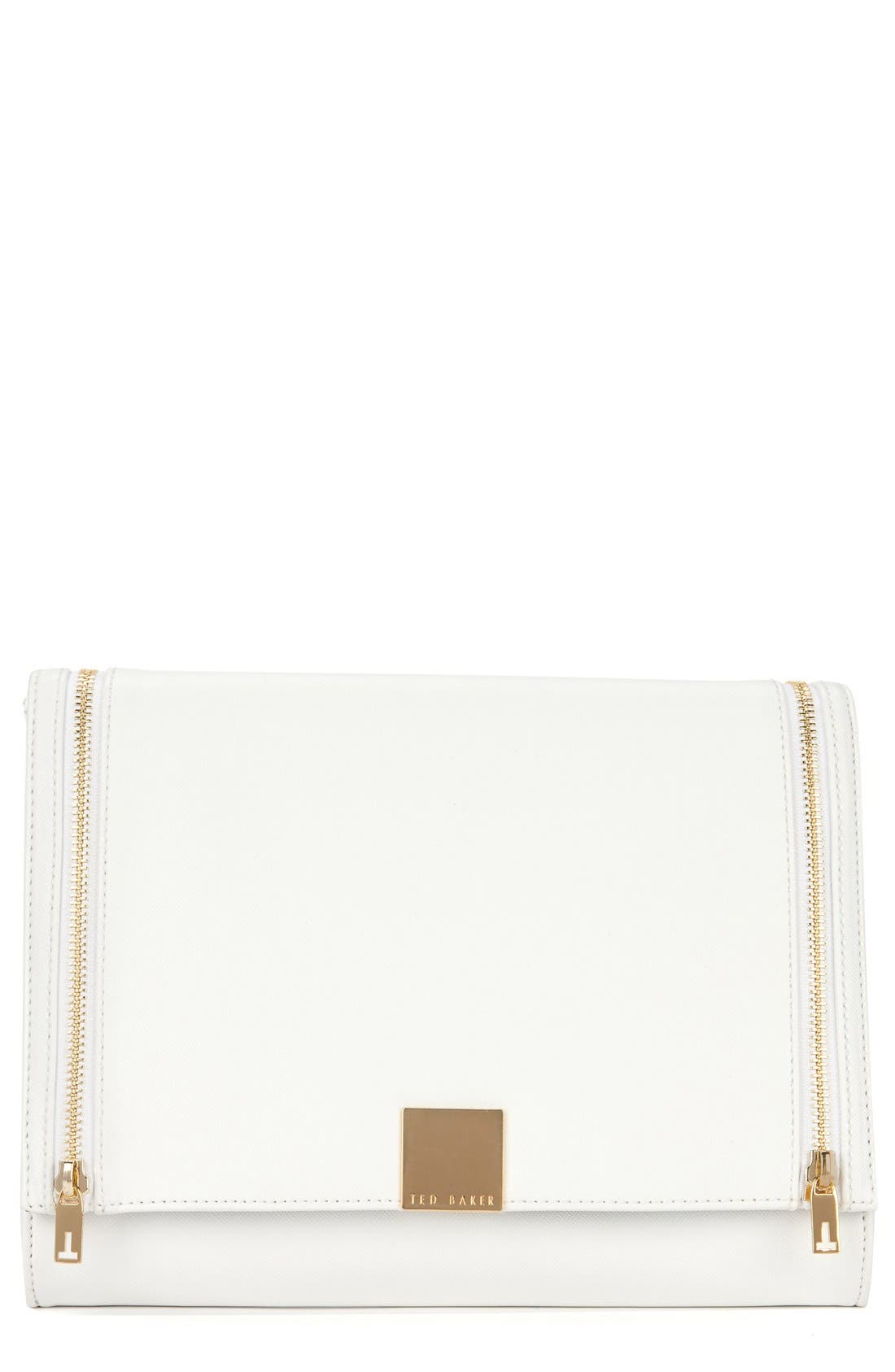 Main Image - Ted Baker London Crosshatch Clutch