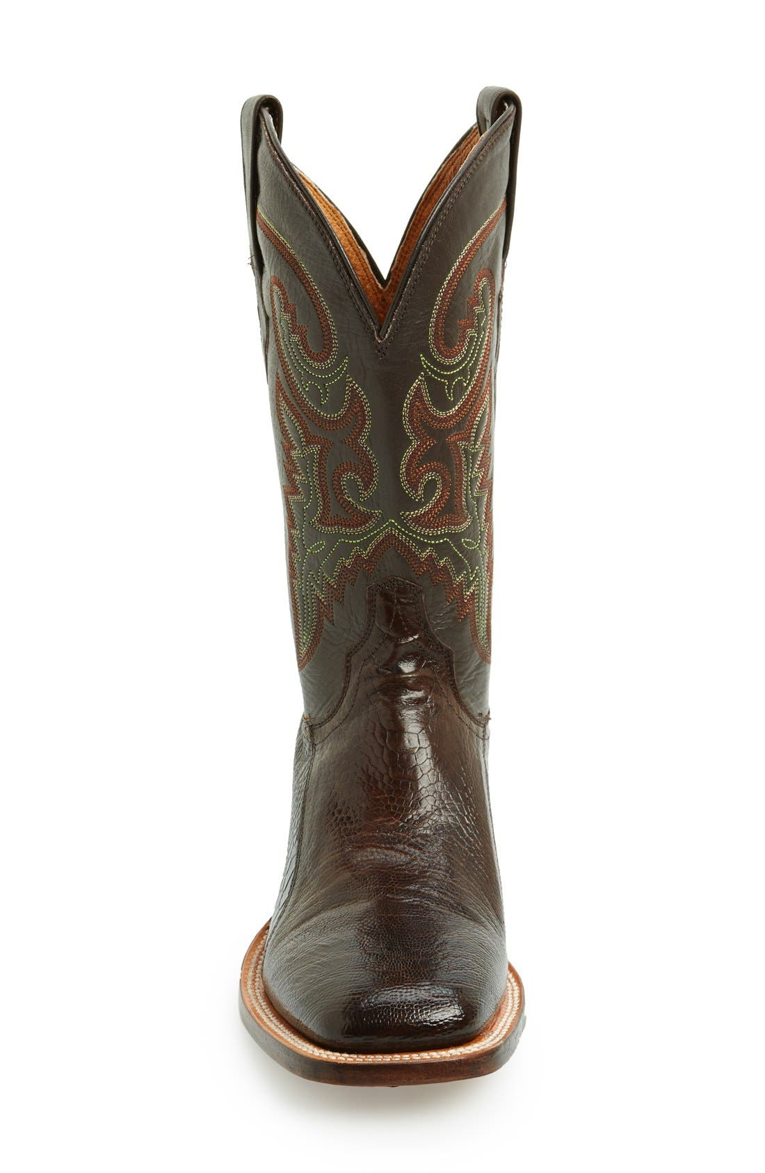Alternate Image 3  - Lucchese Square Toe Leather Boot (Men)