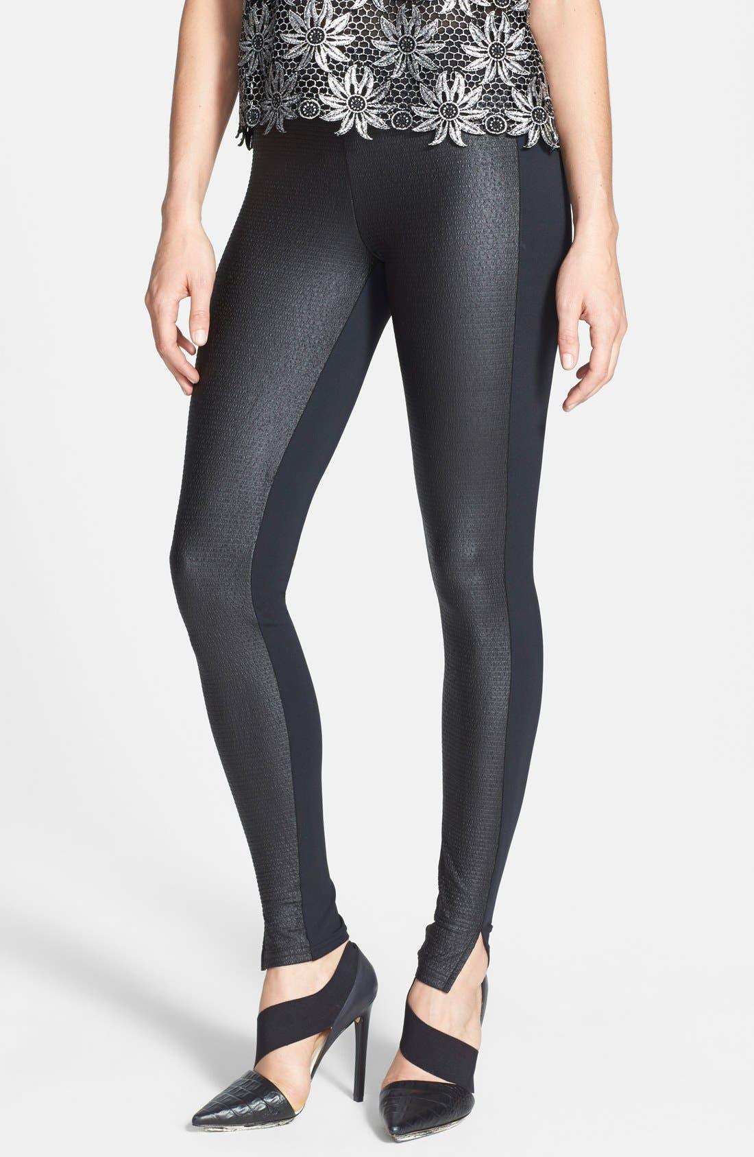 Main Image - Leith Textured Leggings