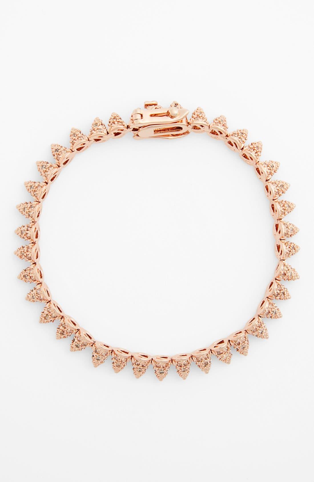 Alternate Image 2  - Eddie Borgo Pavé Mini Cone Bracelet