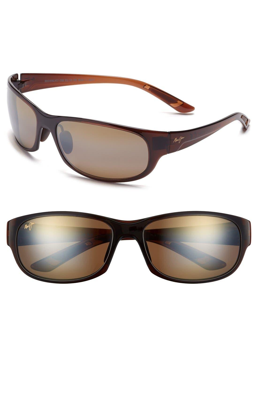 MAUI JIM Twin Falls 63mm PolarizedPlus<sup>®</sup> Sunglasses