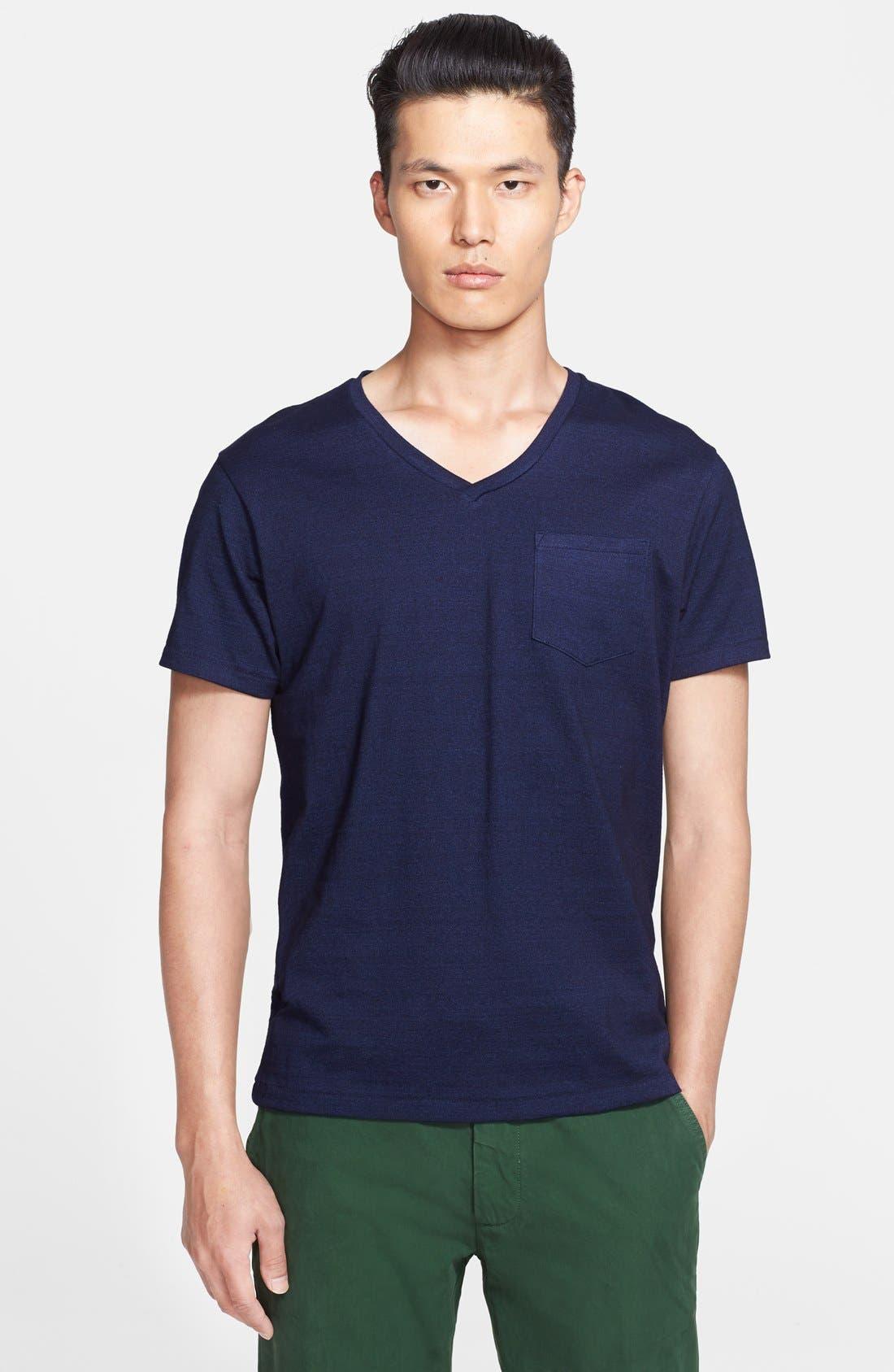 Alternate Image 1 Selected - Todd Snyder Pocket V-Neck T-Shirt