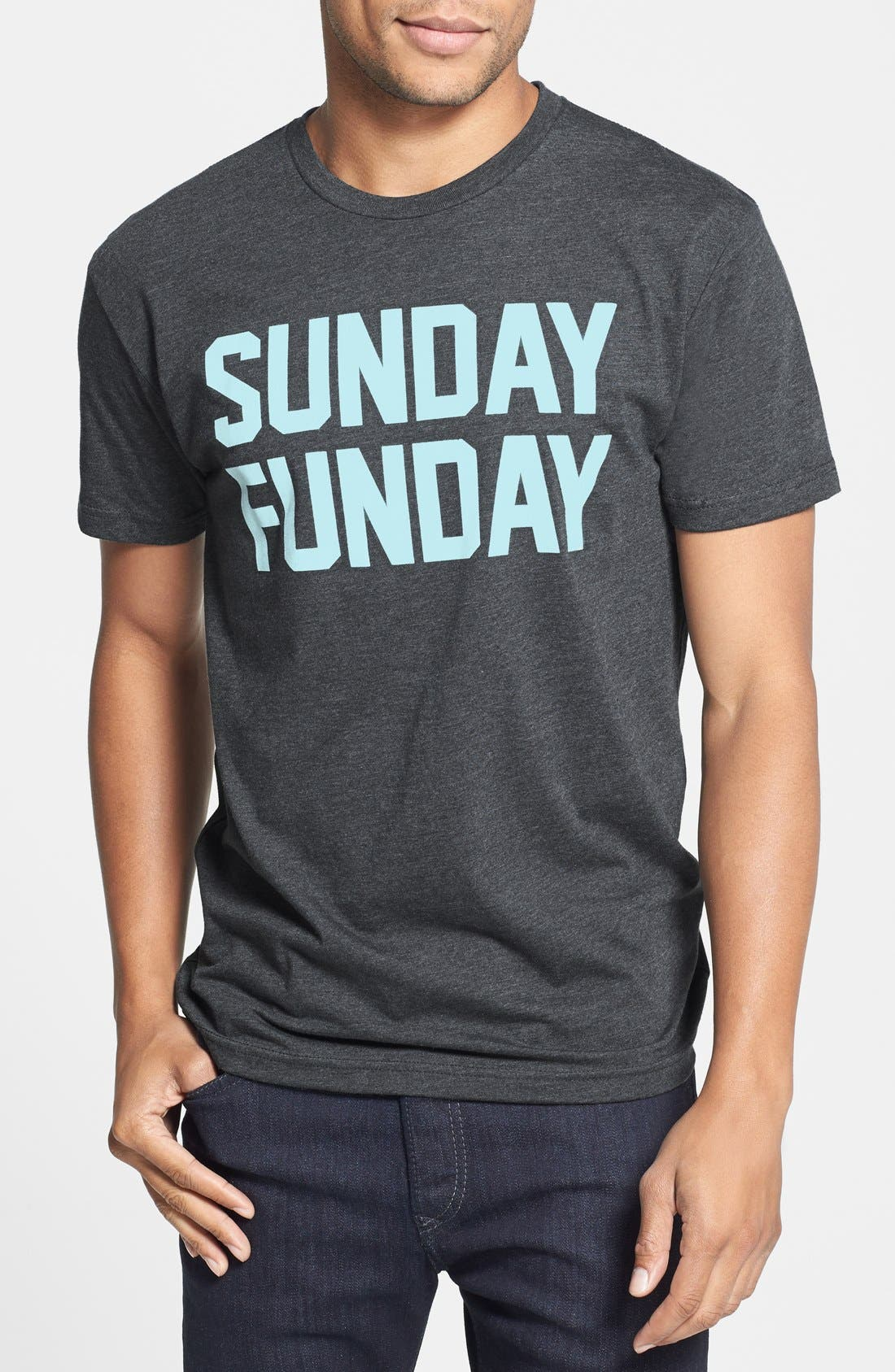 Alternate Image 1 Selected - Kid Dangerous 'Sunday Funday' Graphic T-Shirt