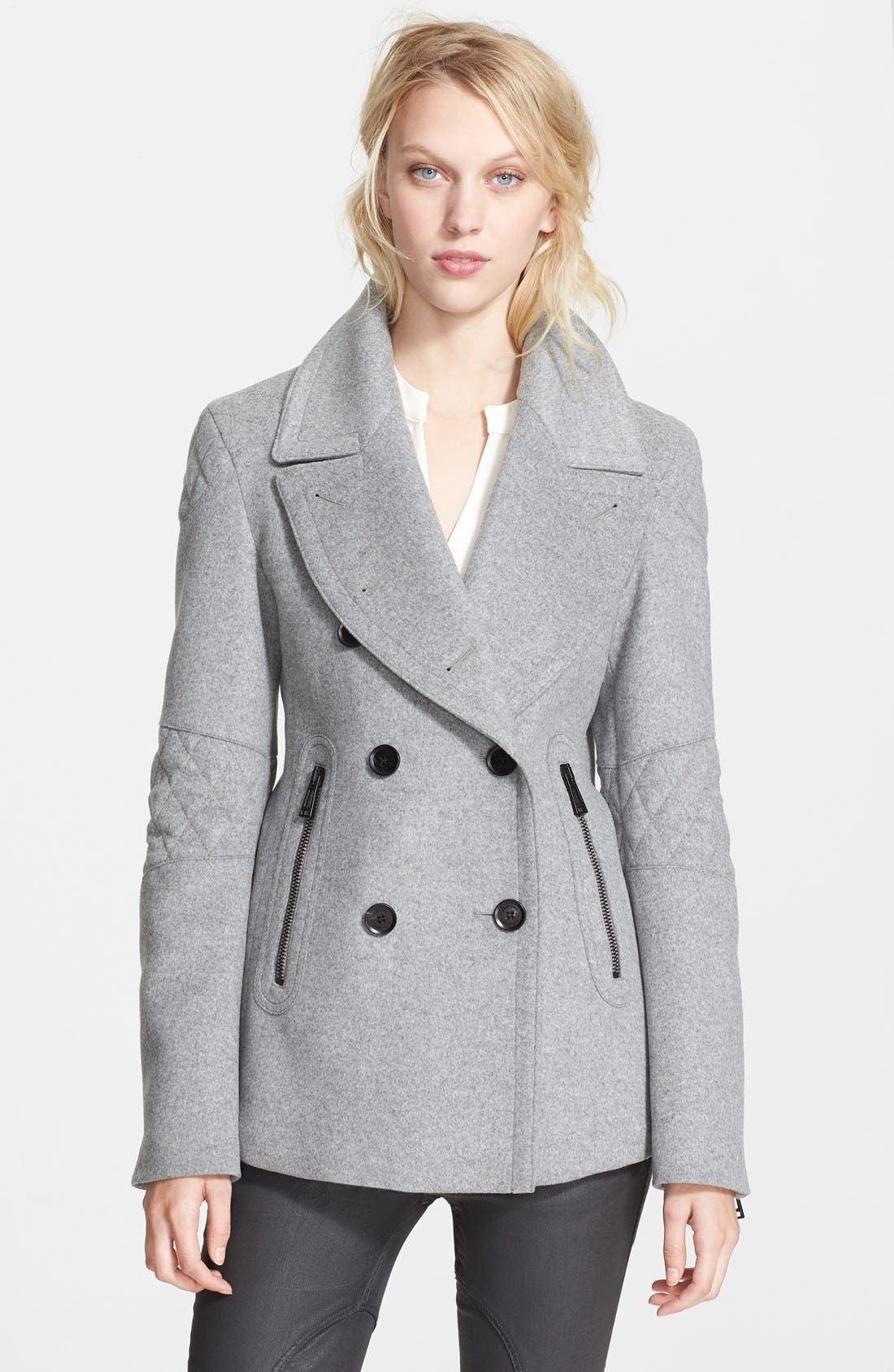 Alternate Image 1 Selected - Belstaff 'Hawthorne' Double Breasted Wool & Cashmere Coat