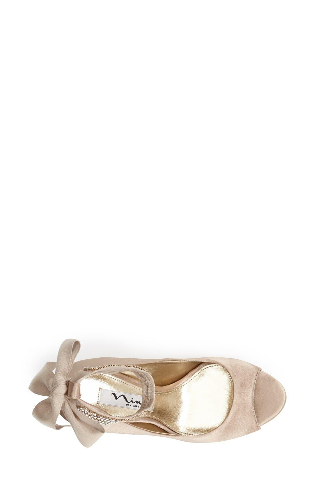 Alternate Image 3  - Nina 'Emma' Crystal Embellished Ankle Strap Pump (Online Only)