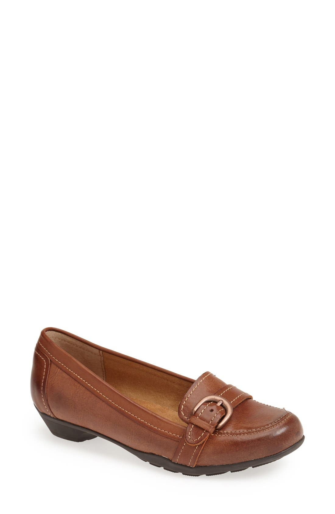 Alternate Image 1 Selected - Softspots 'Parson' Leather Loafer (Women)