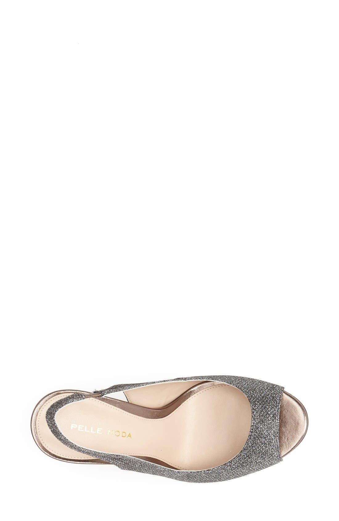 Alternate Image 3  - Pelle Moda 'Rivka' Open Toe Platform Slingback Sandal (Women)