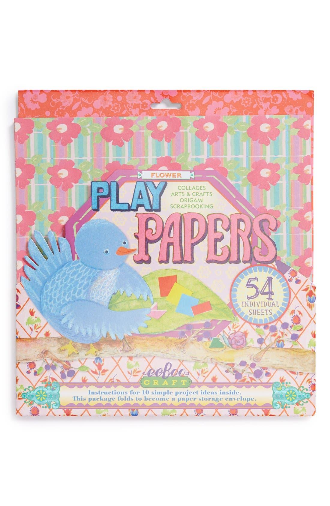 Alternate Image 1 Selected - eeBoo Flower Papers (54-Pack)
