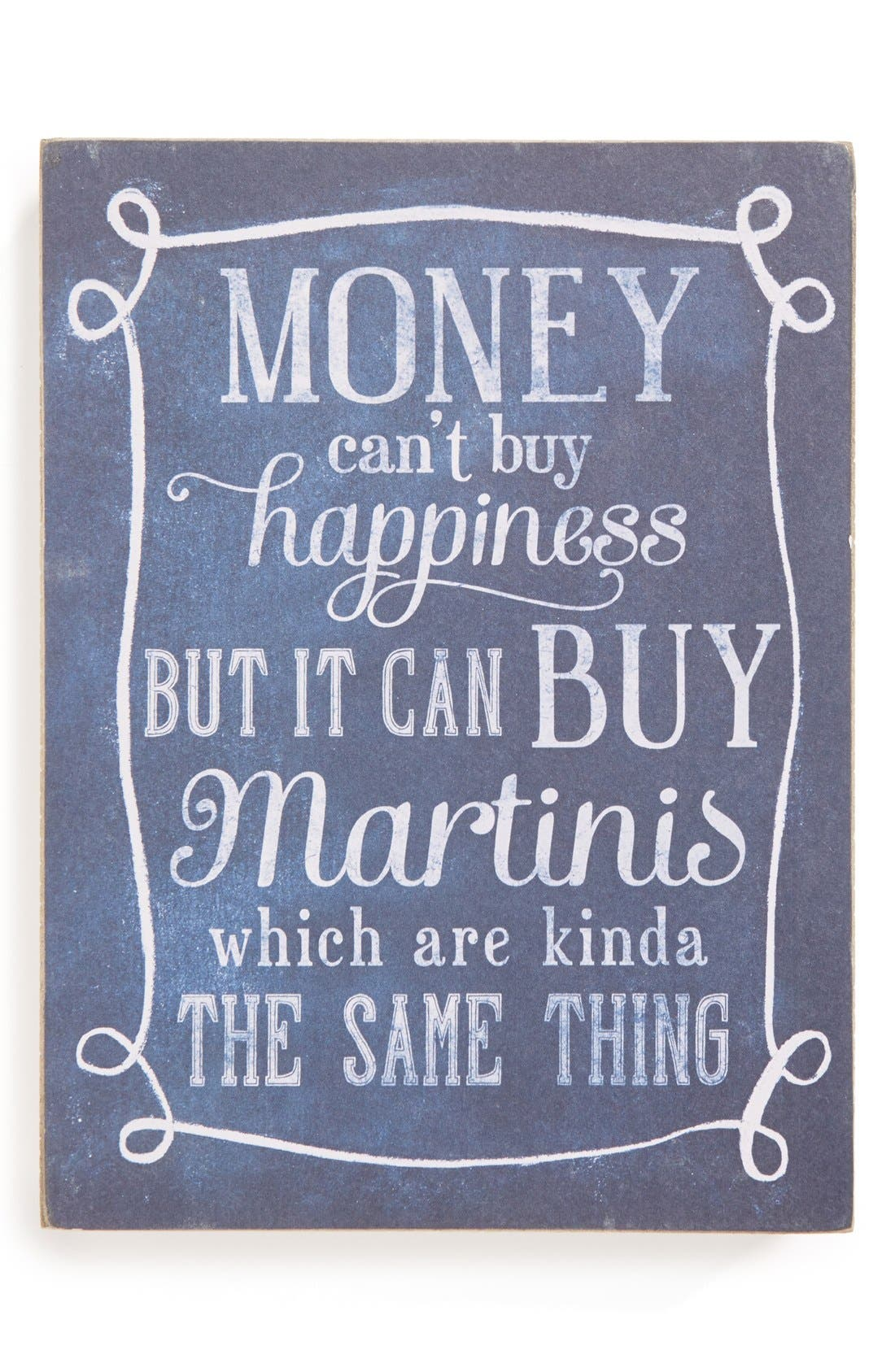 Alternate Image 1 Selected - Primitives by Kathy 'Money Can't Buy Happiness' Box Sign