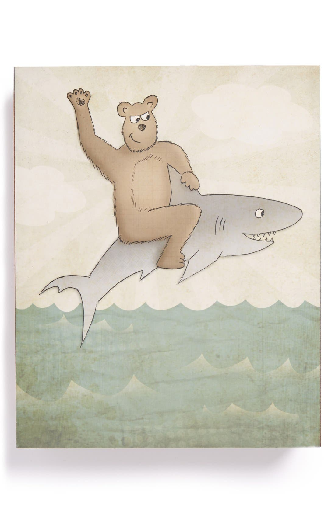 Main Image - Lucius Designs 'Unlikely Friends' Wood Wall Art