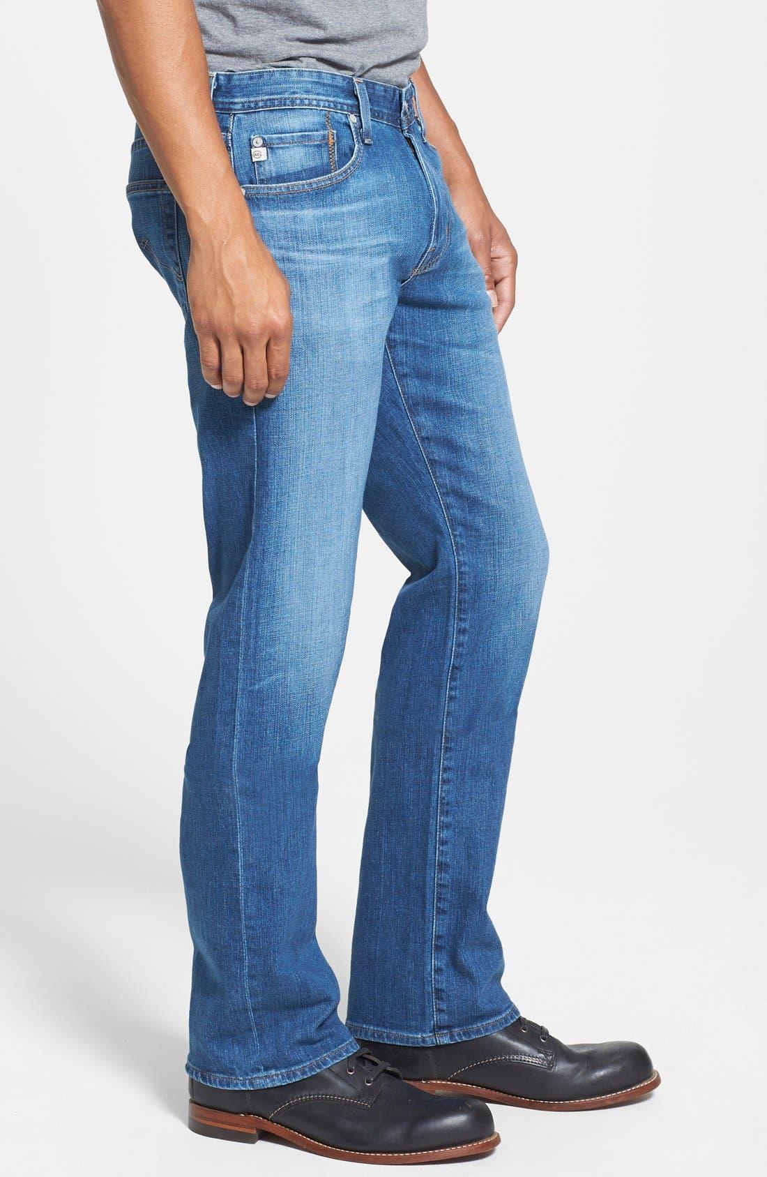 Alternate Image 3  - AG Jeans 'Protégé' Straight Leg Jeans (Eleven Year Wildcraft)