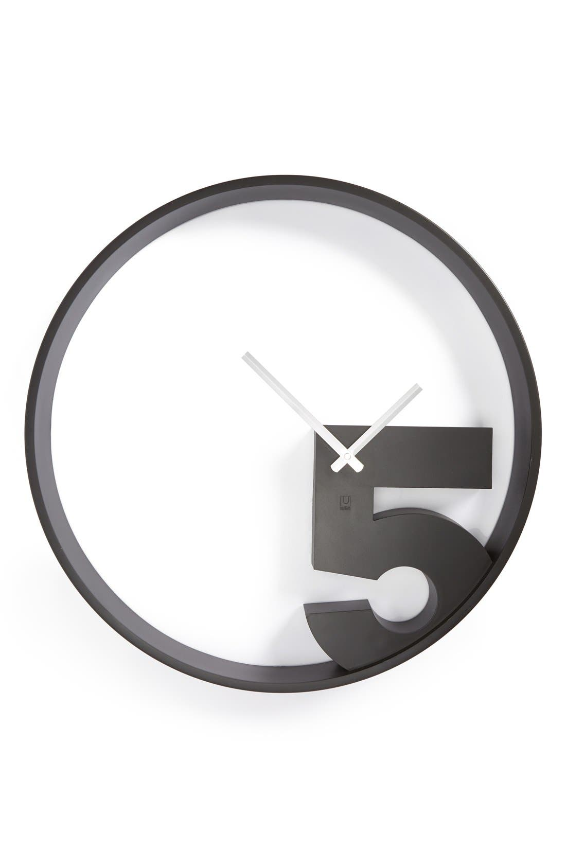 Alternate Image 1 Selected - Umbra 'Take 5' Wall Clock