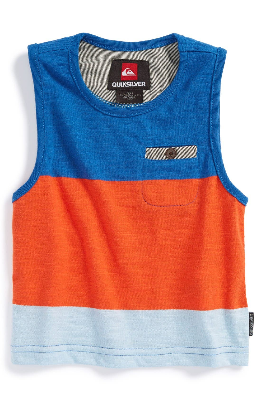 Alternate Image 1 Selected - Quiksilver 'Half Pint' Slub Tank Top (Baby Boys)
