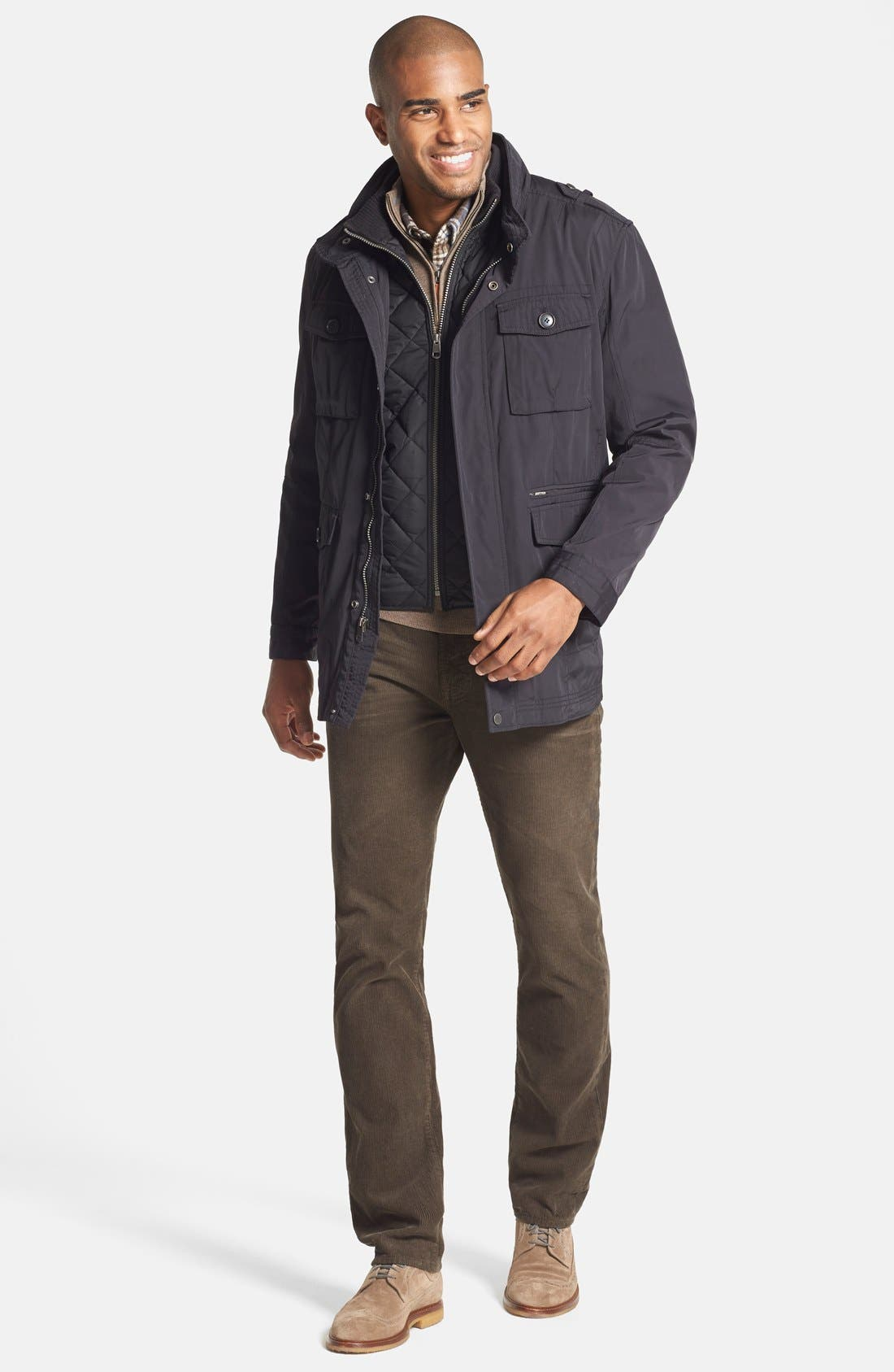 Alternate Image 5  - Cole Haan 'Oxford Utility' Two-in-One Jacket