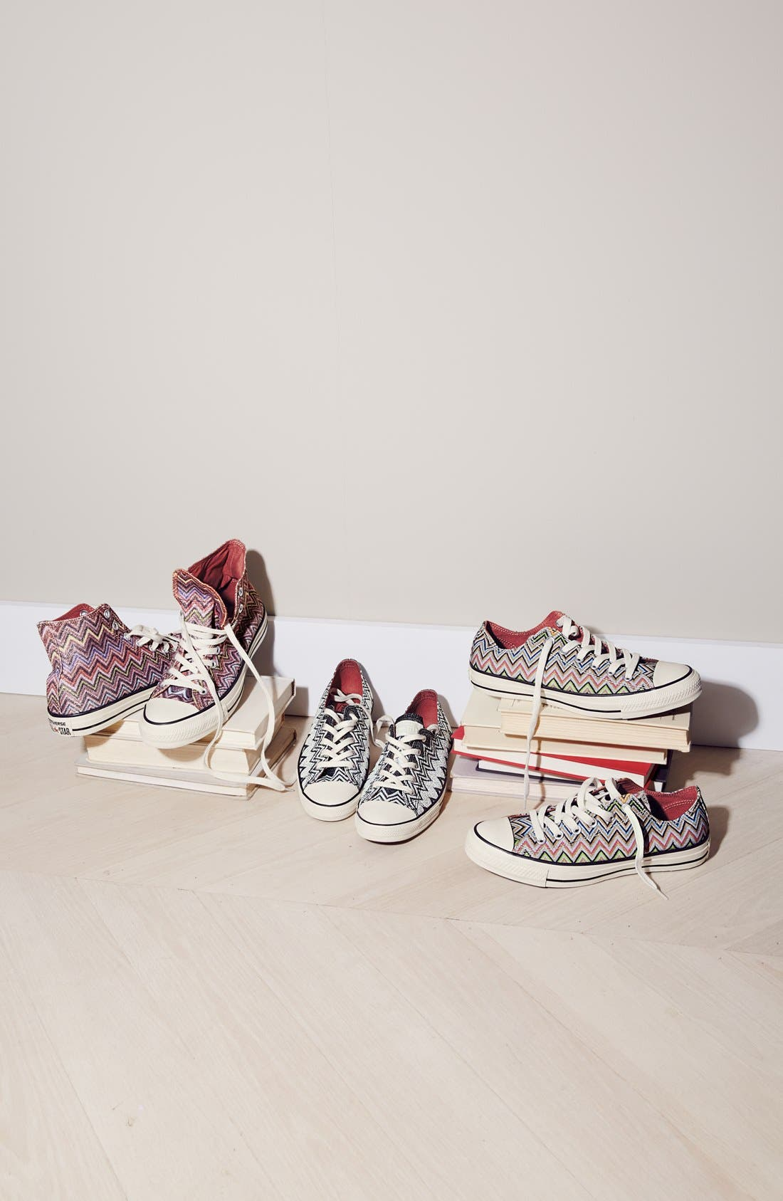 x Missoni Chuck Taylor<sup>®</sup> All Star<sup>®</sup> Low Sneaker,                             Alternate thumbnail 6, color,