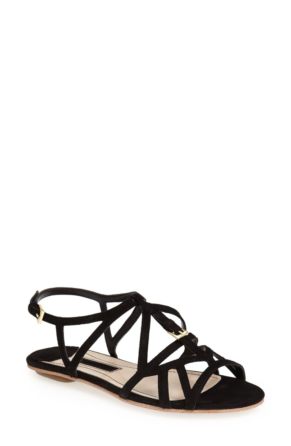 Alternate Image 1 Selected - Topshop 'Fifi' Sandal (Women)