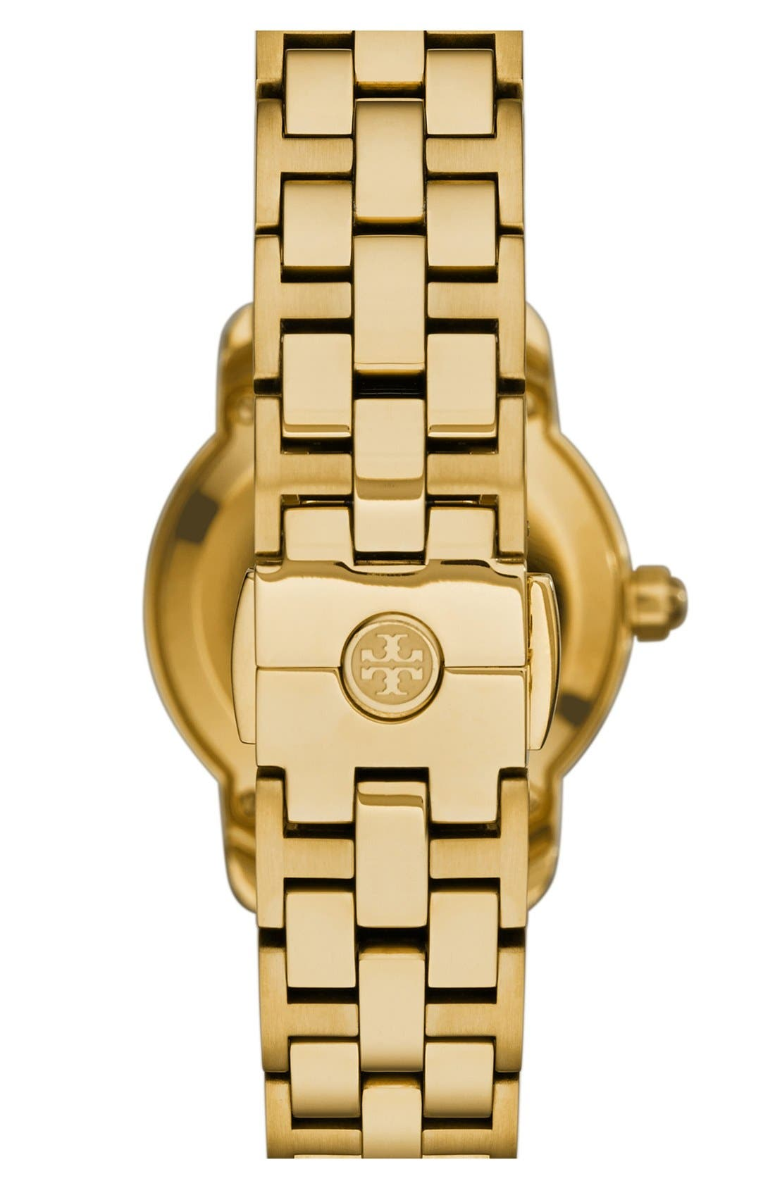 Alternate Image 2  - Tory Burch 'Tory' Small Round Bracelet Watch, 28mm