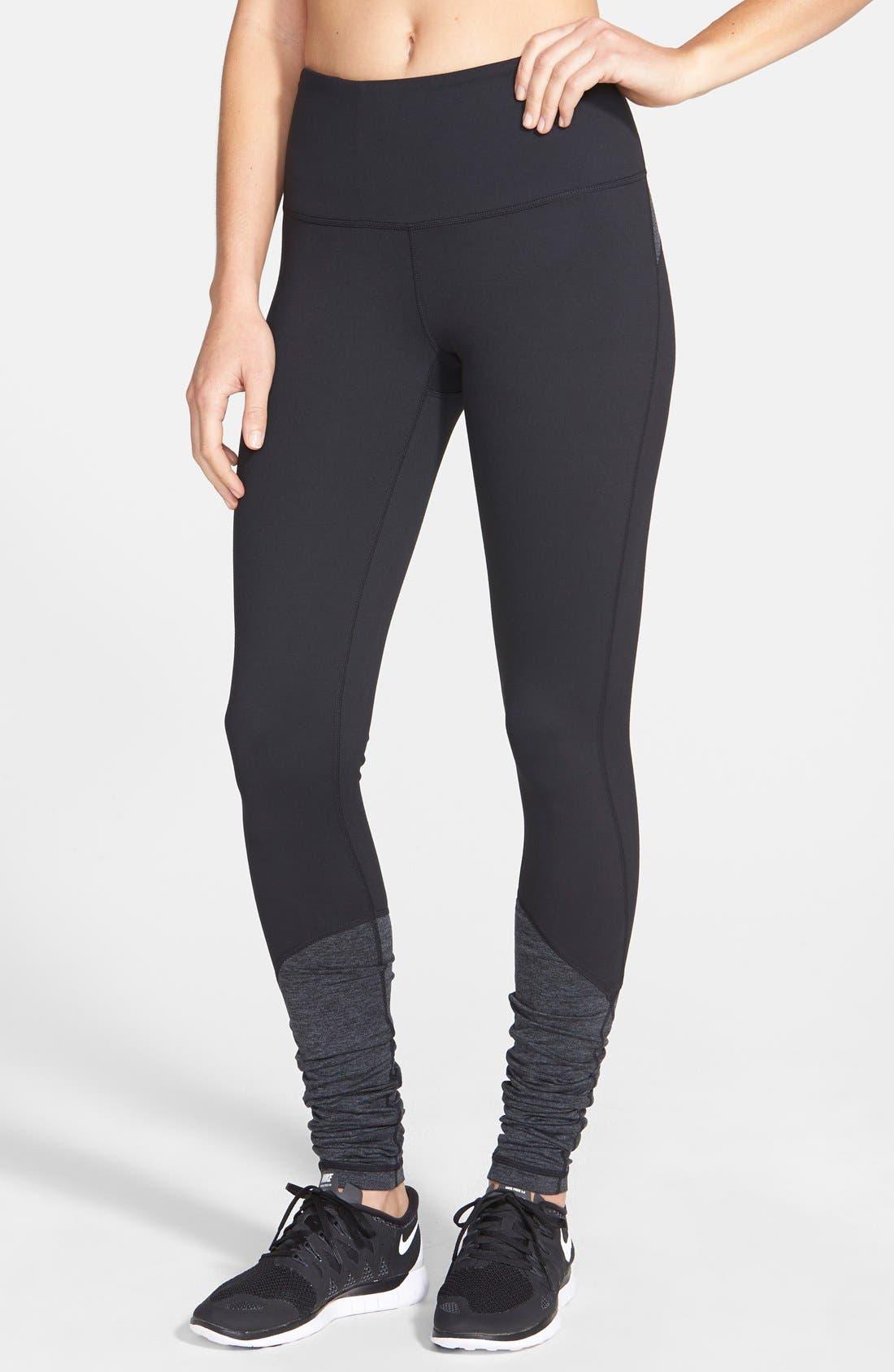 'Eleve' Leggings,                         Main,                         color, Black