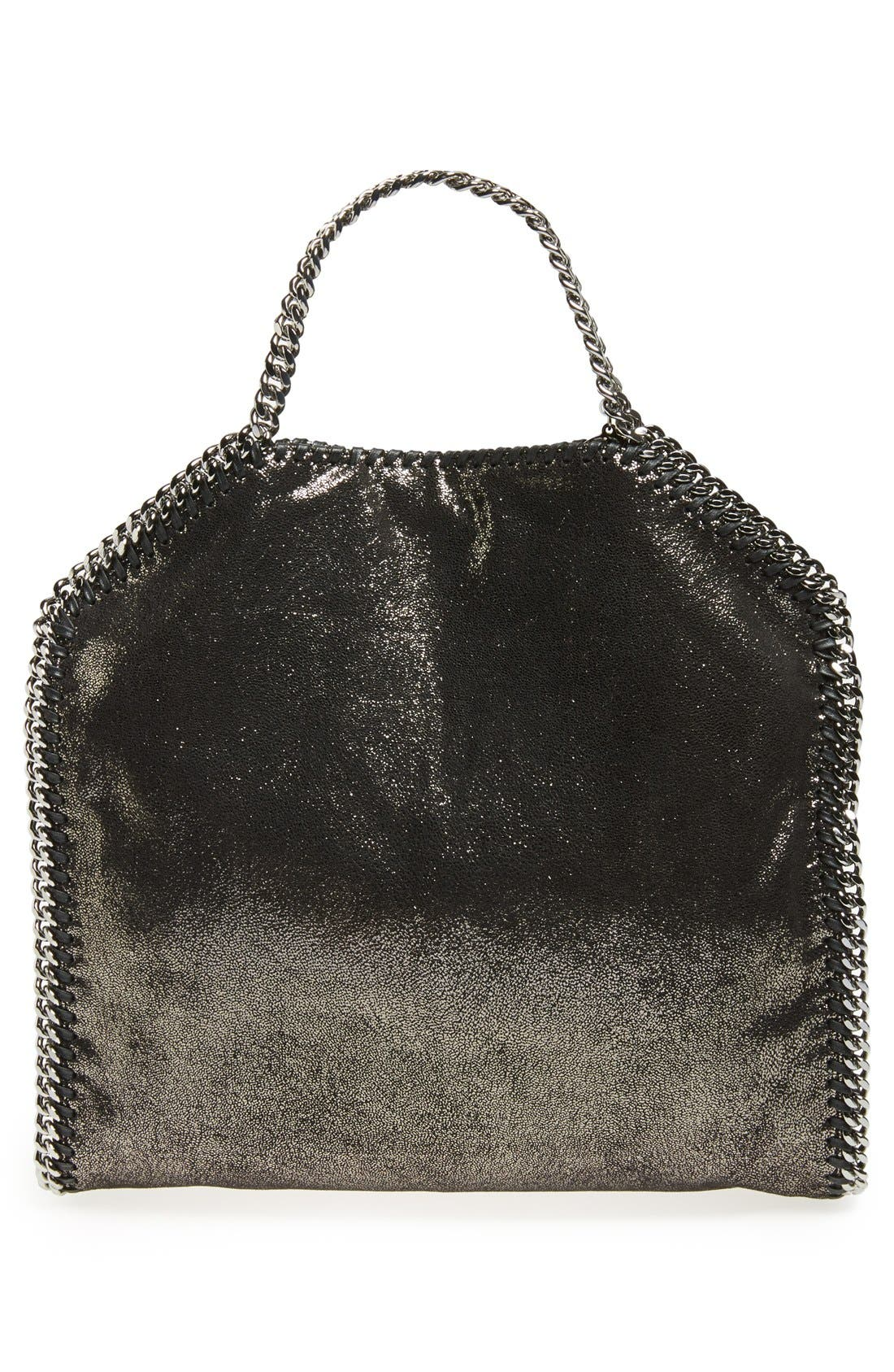 Alternate Image 4  - Stella McCartney 'Falabella' Metallic Foldover Tote