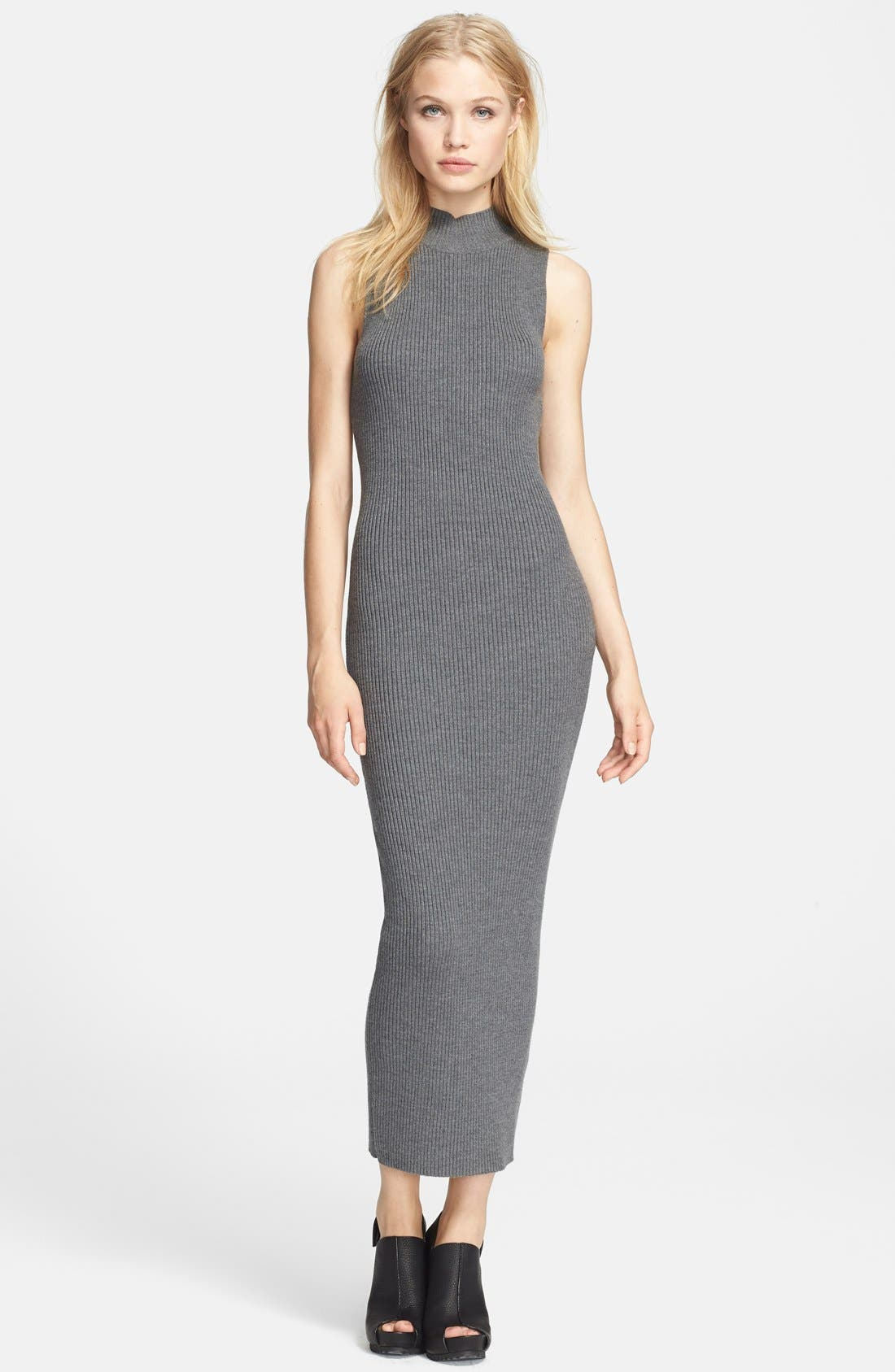 Main Image - Theory 'Ulana' Stretch Knit Sweater Dress