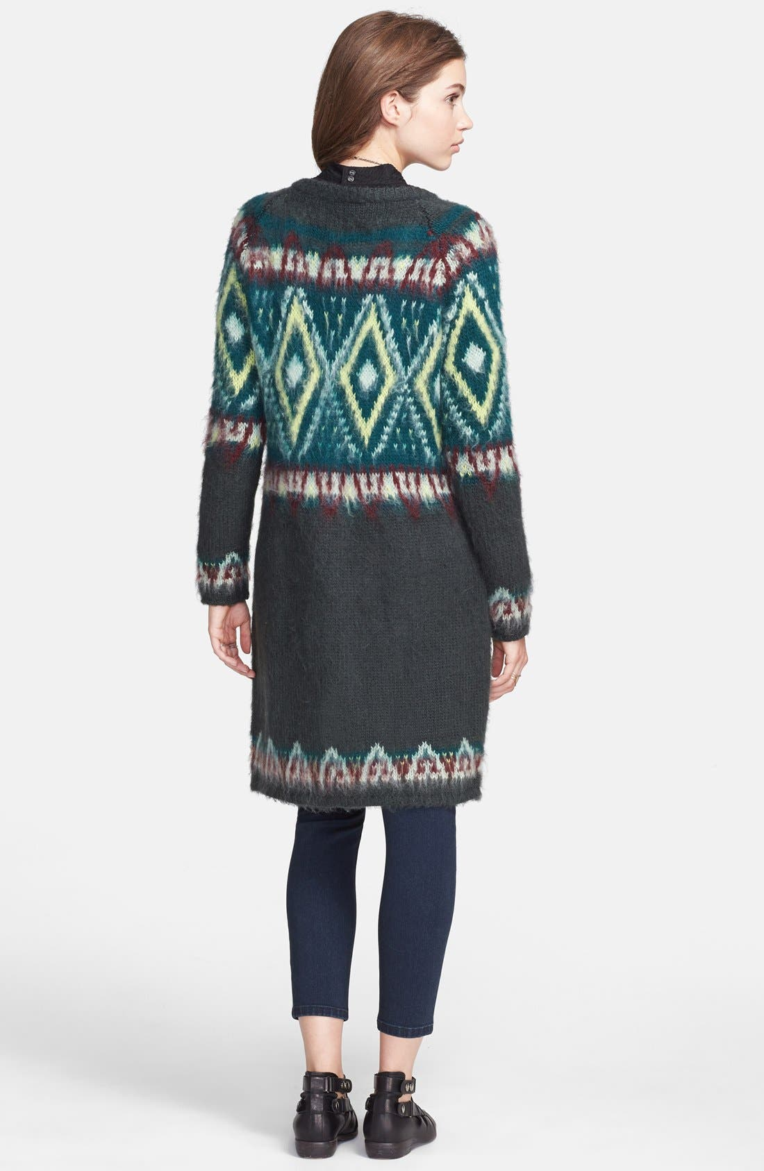 Alternate Image 2  - Free People Frosted Fair Isle Cardigan