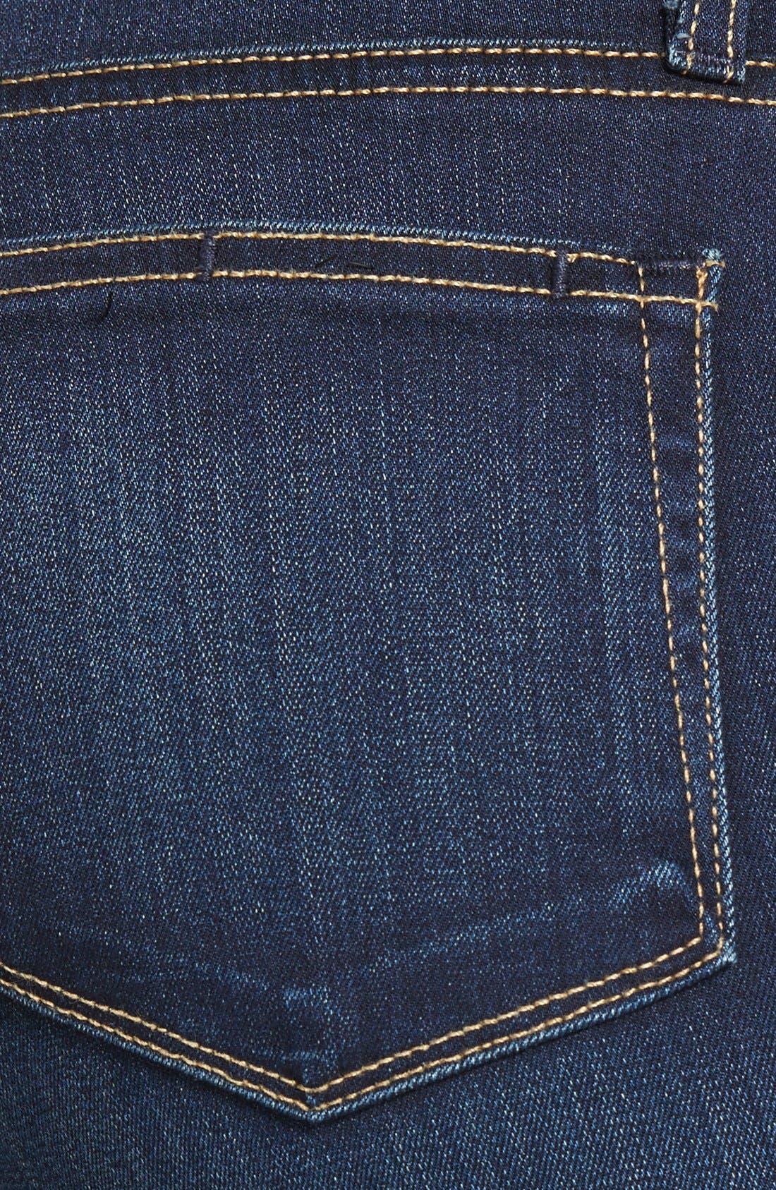Alternate Image 3  - PAIGE Transcend - Hoxton High Waist Skinny Jeans (Vista)