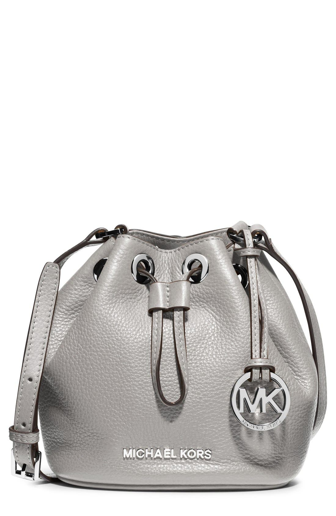 Main Image - MICHAEL Michael Kors 'Jules' Drawstring Crossbody Bag
