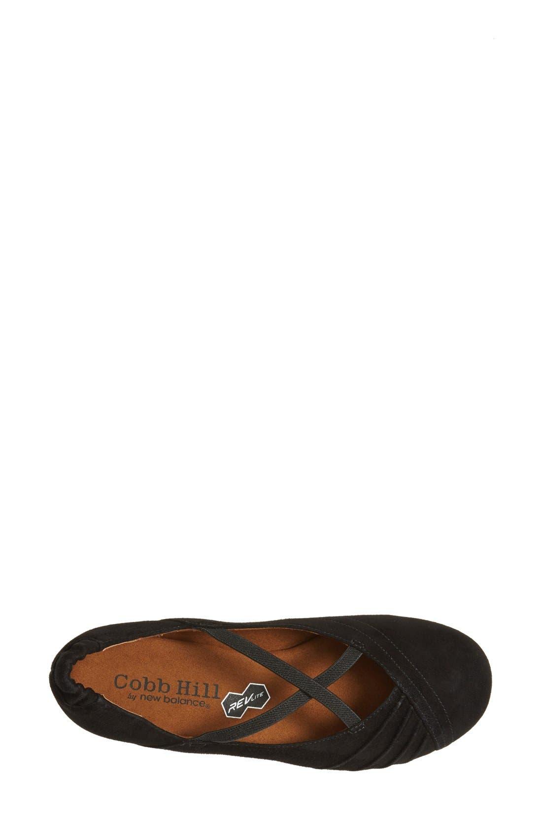 Alternate Image 3  - Cobb Hill 'REVcross' Suede Skimmer Flat (Women)