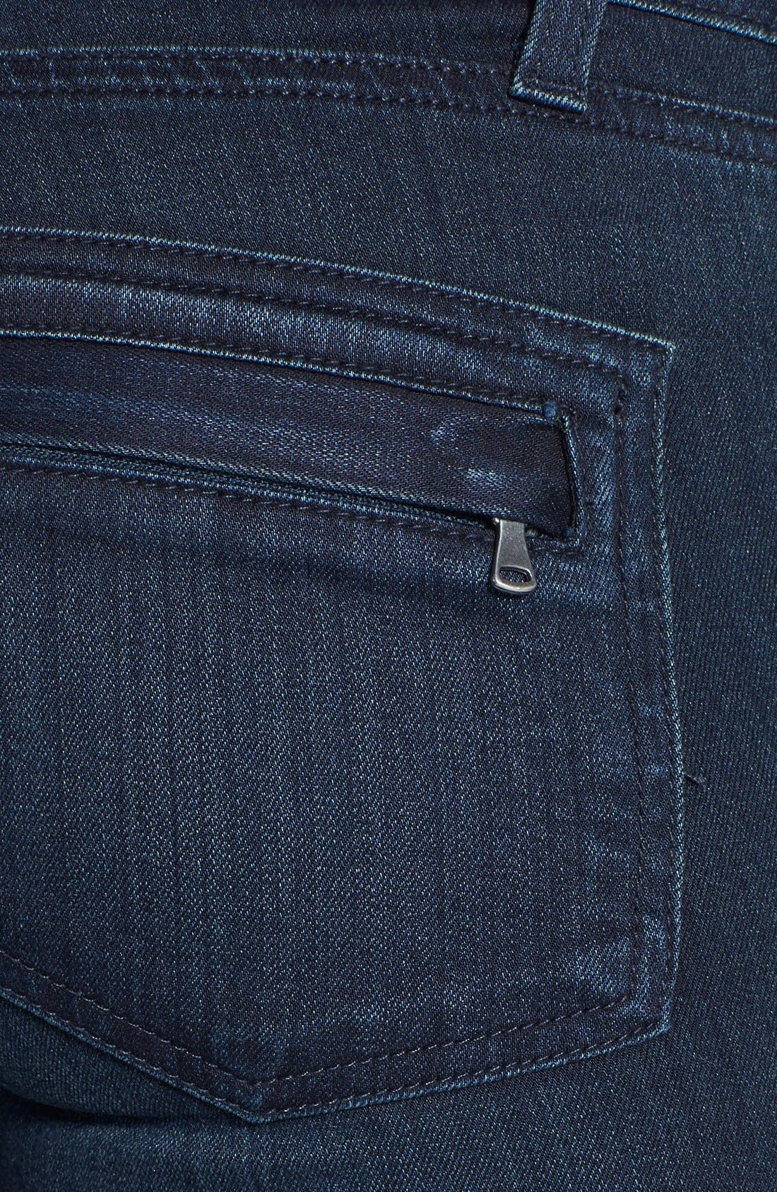 Alternate Image 3  - Paige Denim 'Ollie' Ultra Skinny Jeans (Midlake No Whiskers)