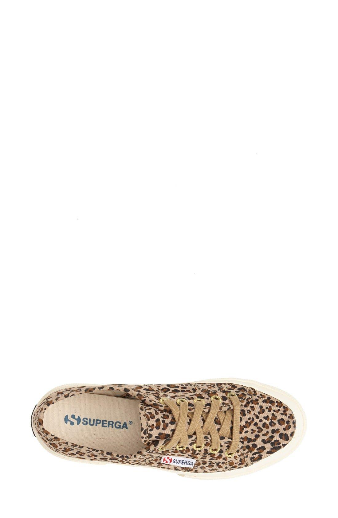 Alternate Image 3  - Superga 'Leo' Leopard Spot Slip-On Sneaker (Women)