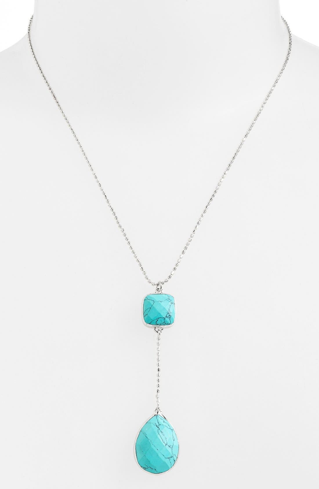 Main Image - Melinda Maria 'Clarence' Pendant Necklace (Nordstrom Exclusive)