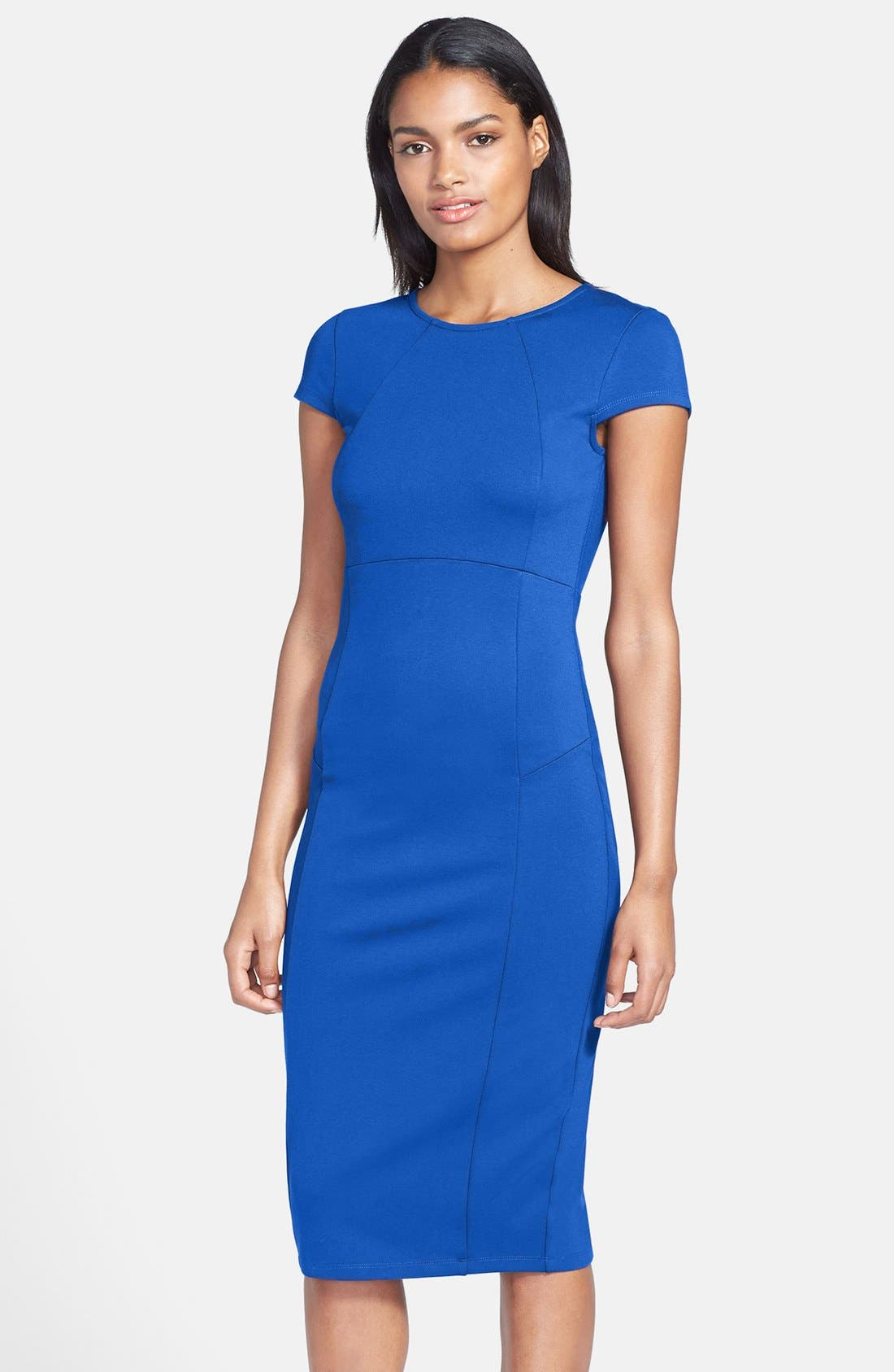Felicity & Coco Ward Seamed Pencil Dress (Regular & Petite) (Nordstrom Exclusive)