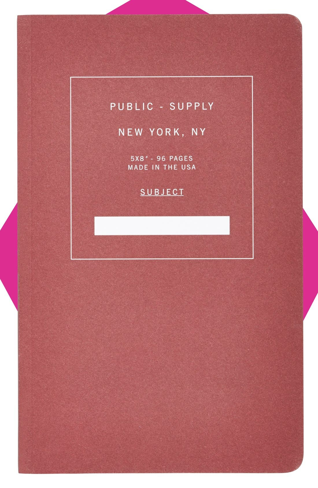 Alternate Image 1 Selected - Public - Supply Notebook