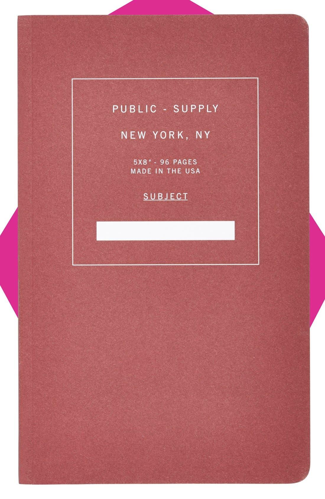 Main Image - Public - Supply Notebook