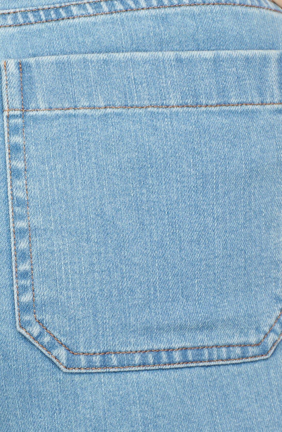 Alternate Image 3  - Michael Kors Bell Bottom Stretch Jeans