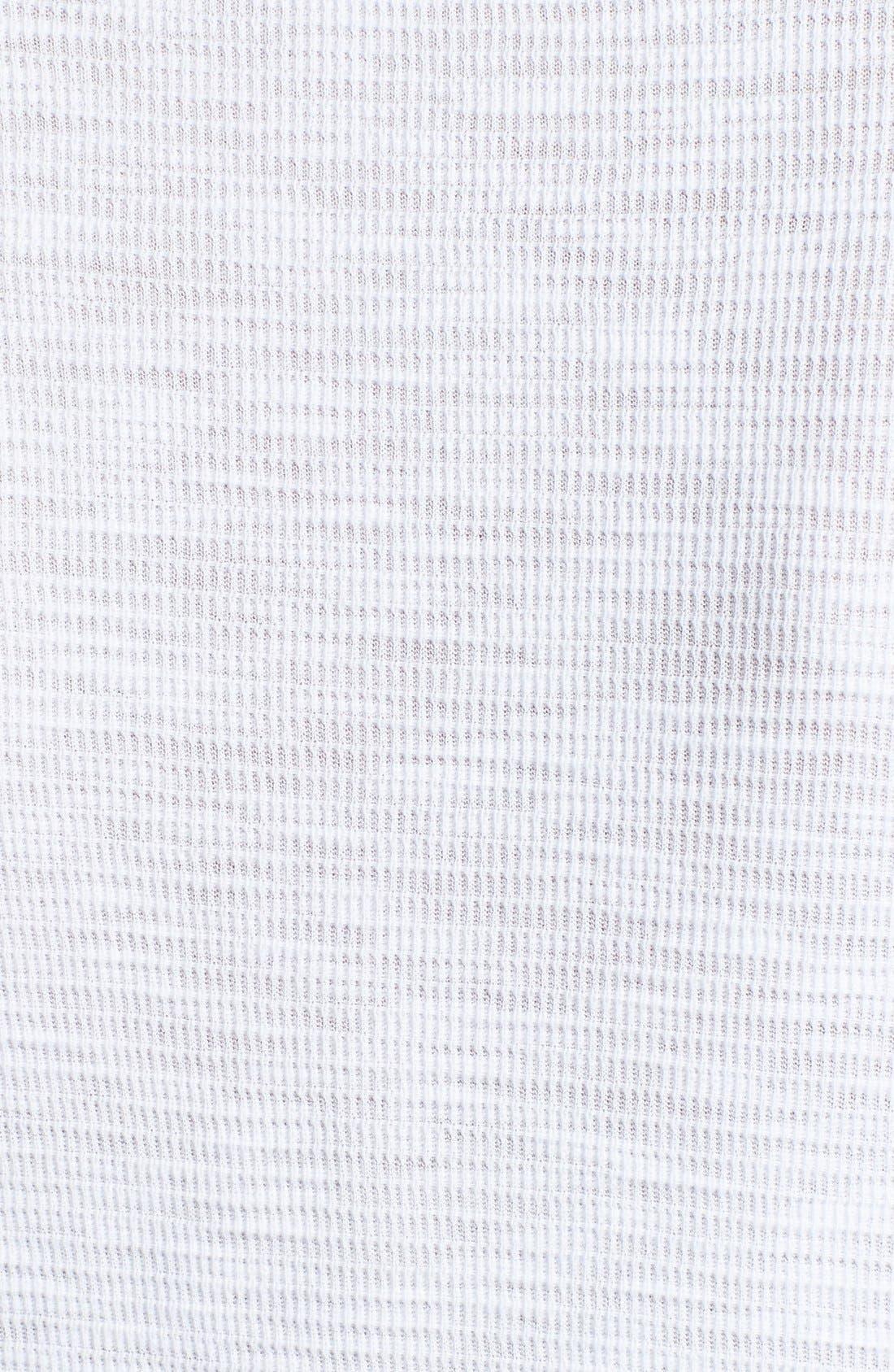 Alternate Image 3  - James Perse Thermal Long Sleeve Tee