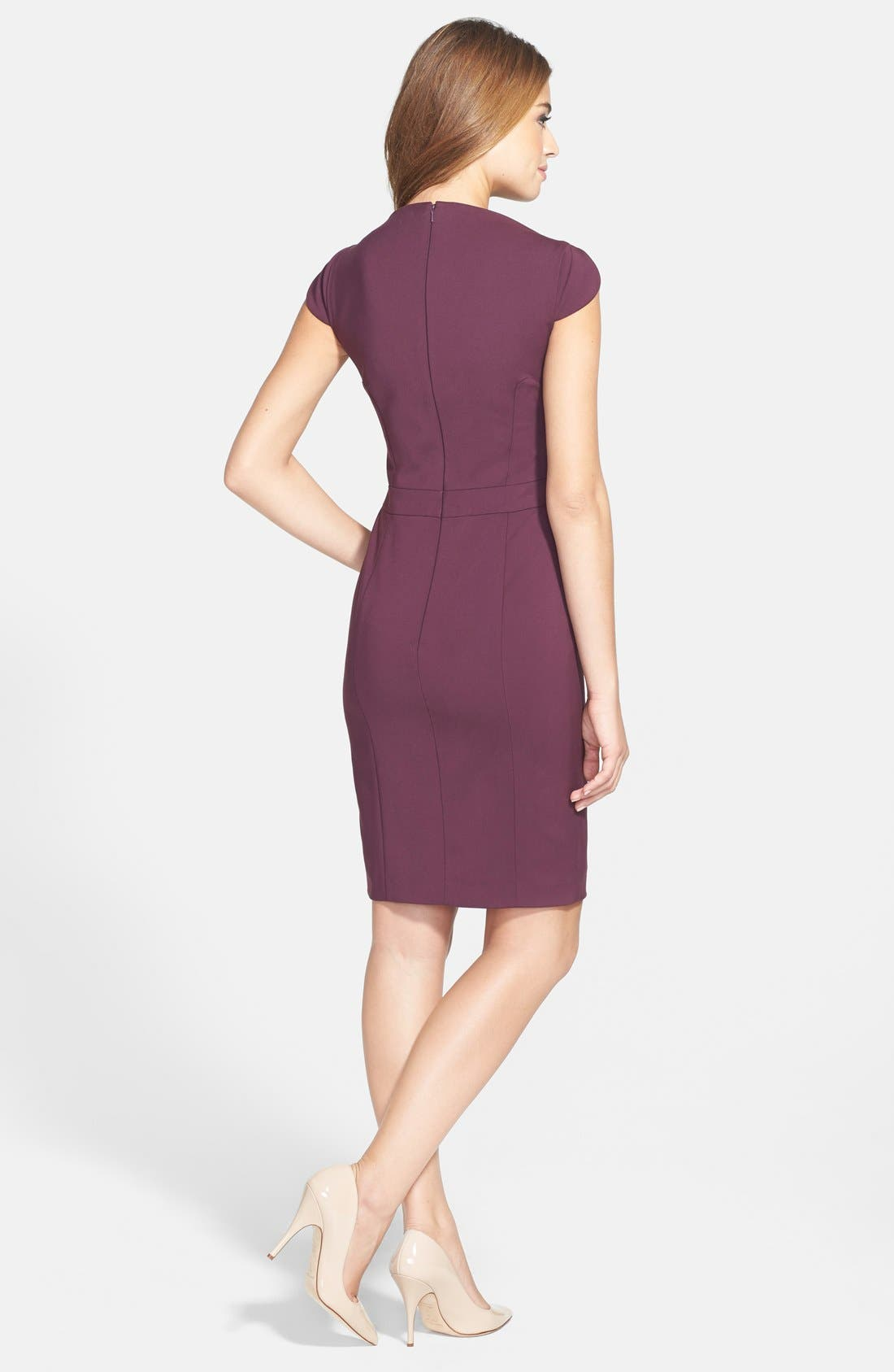 Alternate Image 2  - French Connection 'Lolo' Stretch Sheath Dress