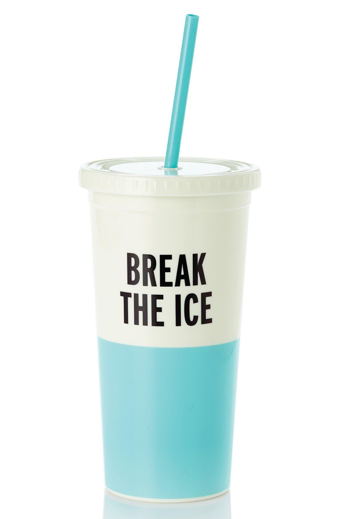 Main Image - kate spade new york 'break the ice' insulated tumbler
