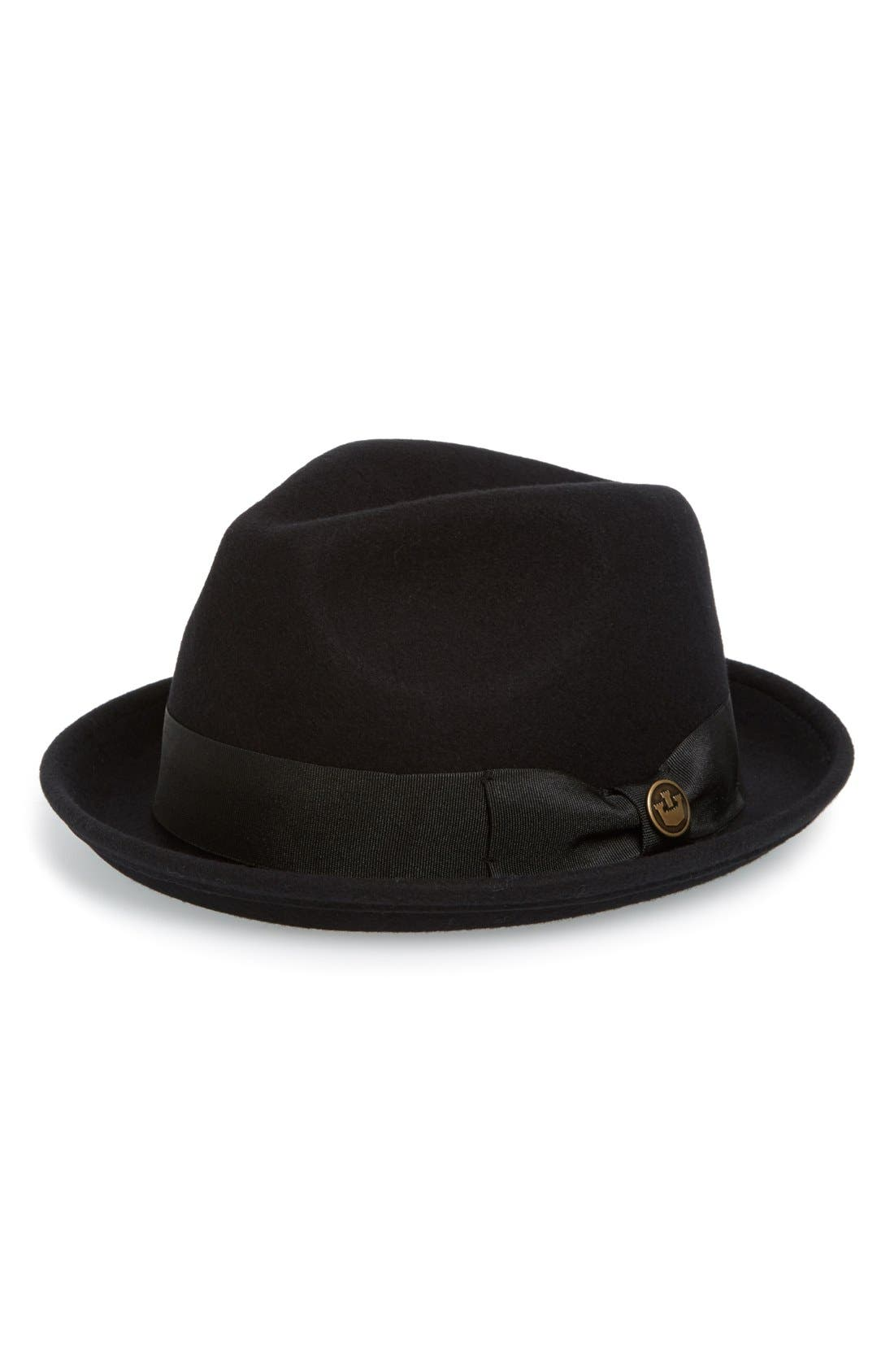Goorin Brothers The Good Boy Felt Wool Fedora