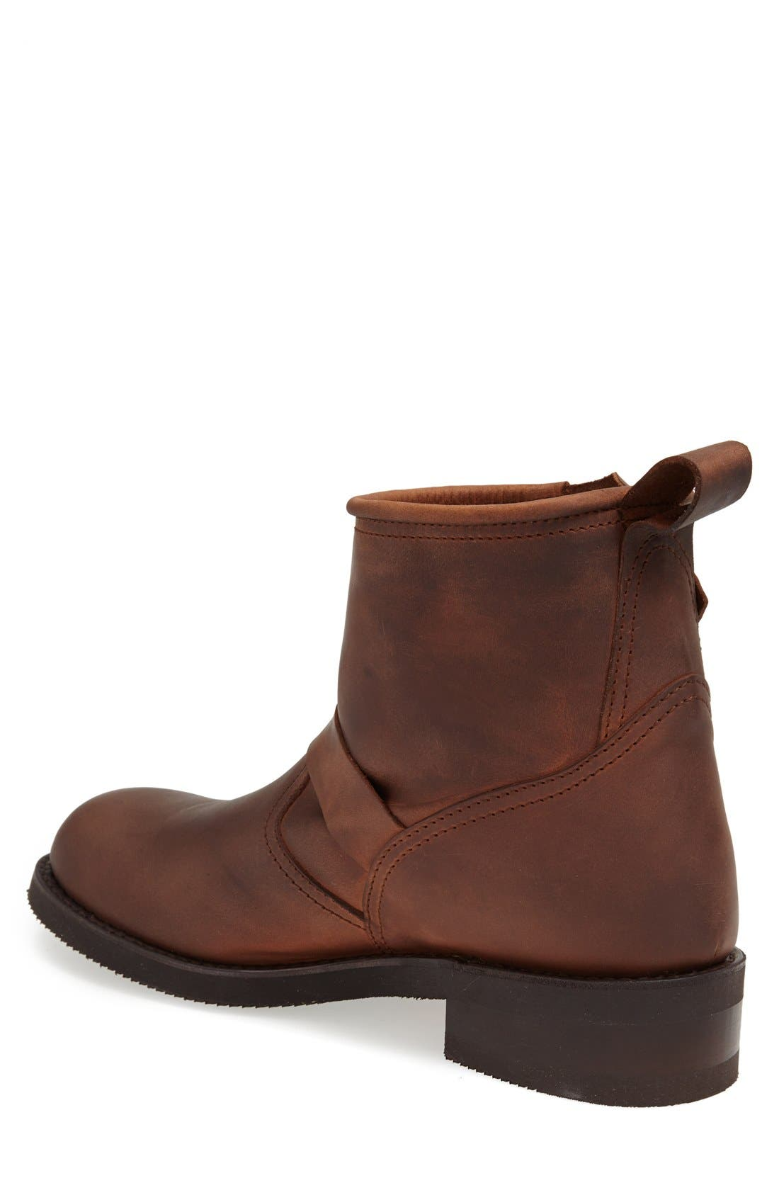'Engineer' Harness Boot,                             Alternate thumbnail 2, color,                             Brown
