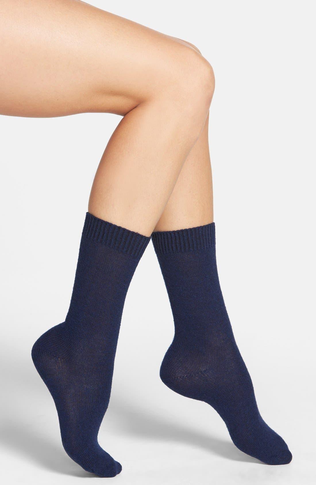 Nordstrom 'Luxury' Crew Socks