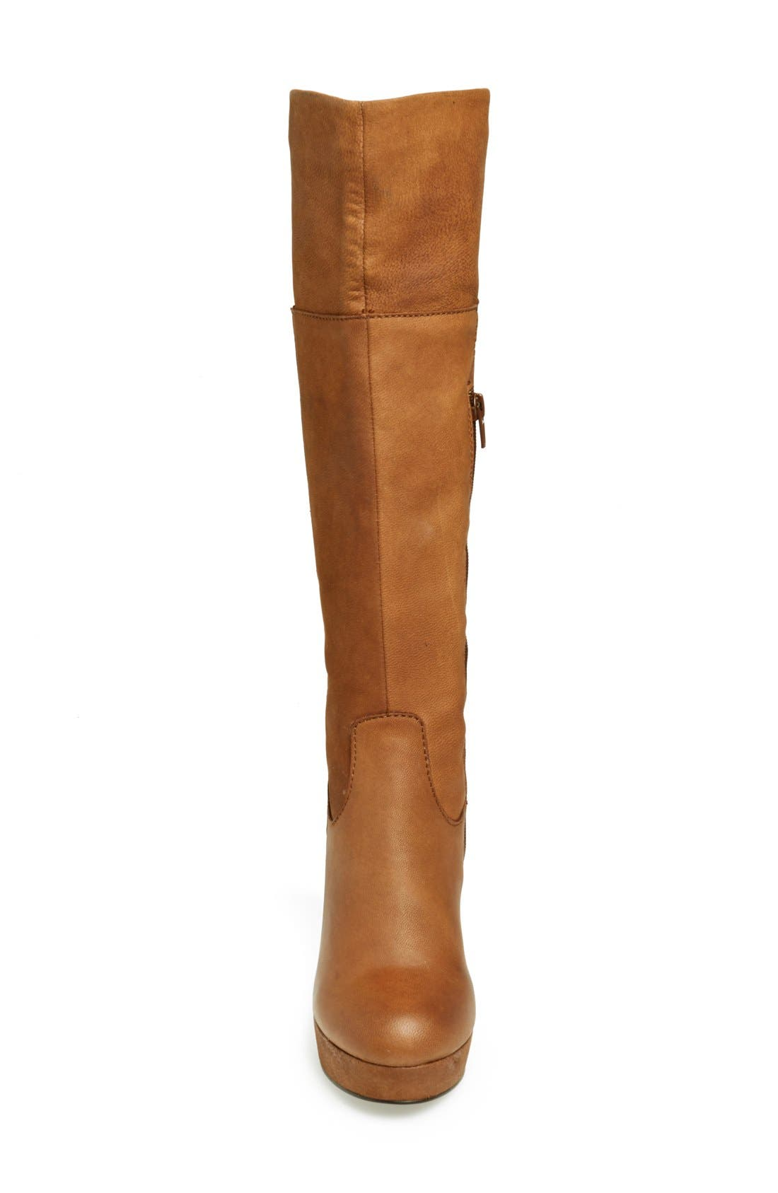 Alternate Image 3  - Steve Madden 'Rackey' Leather Platform Boot (Women)