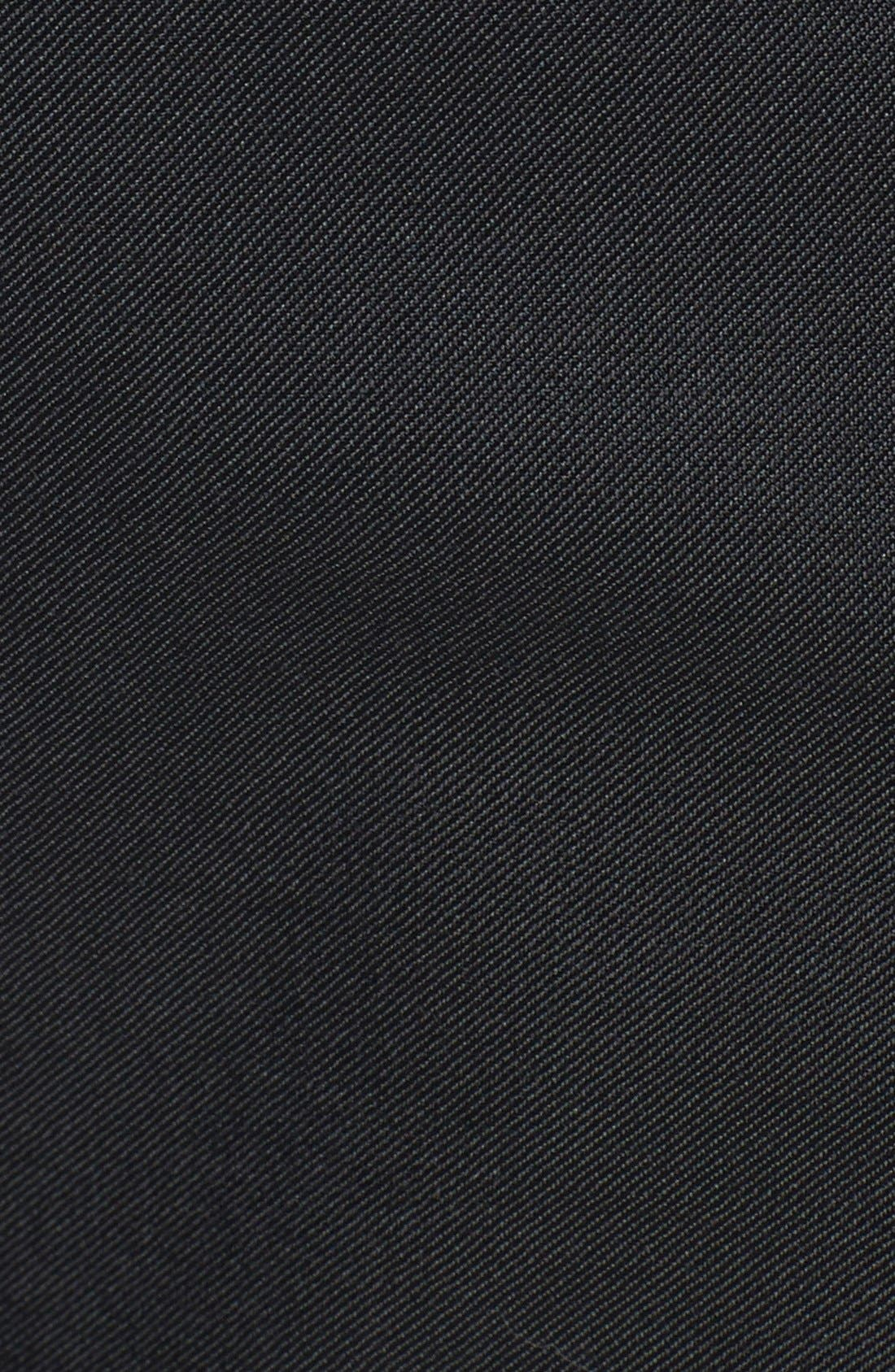 Huge/Genius Trim Fit Wool Suit,                             Alternate thumbnail 7, color,                             Charcoal
