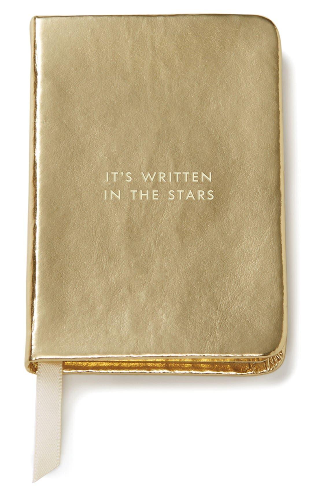 Main Image - kate spade new york 'it's written in the stars' mini notebook