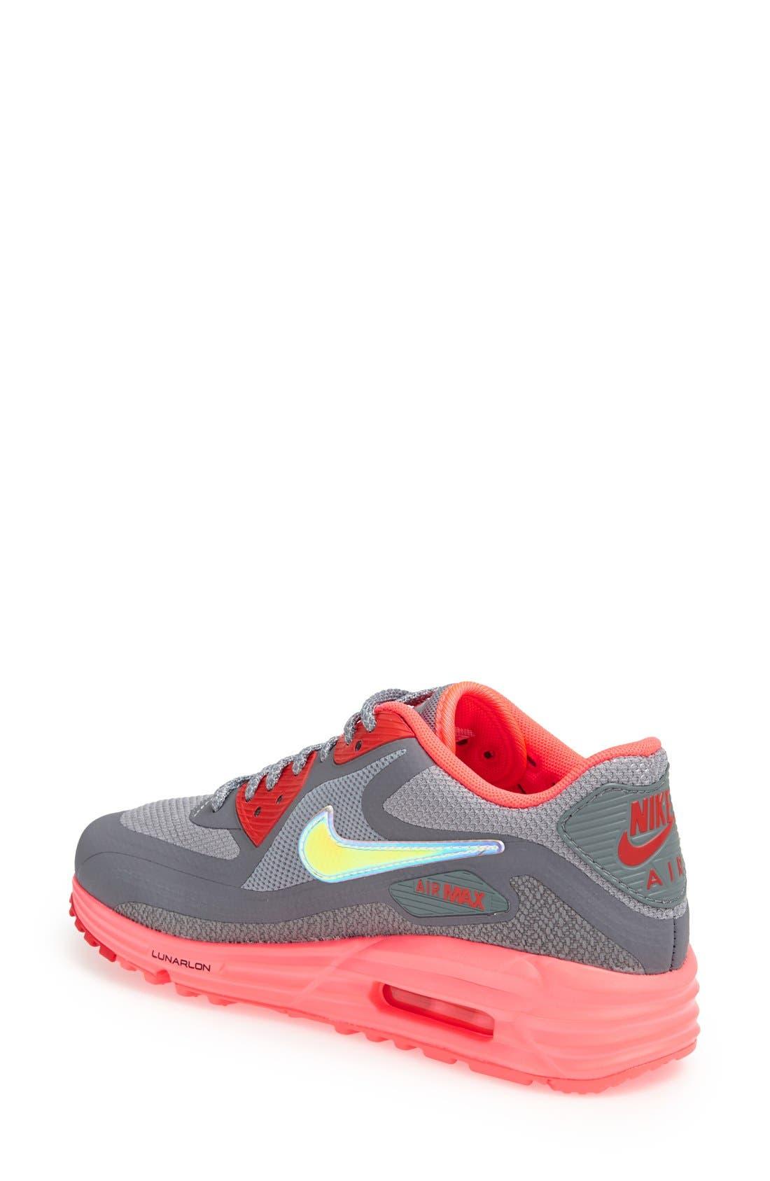 Alternate Image 2  - Nike 'Air Max Lunar 90' Sneaker (Women)