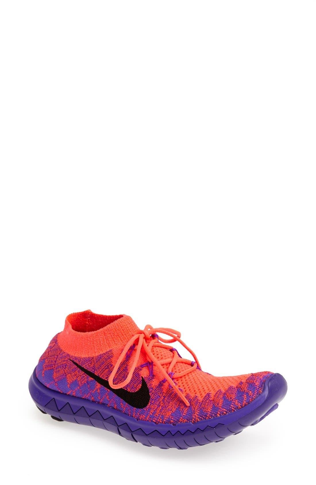 Main Image - Nike 'Free Flyknit 3.0' Running Shoe (Women)