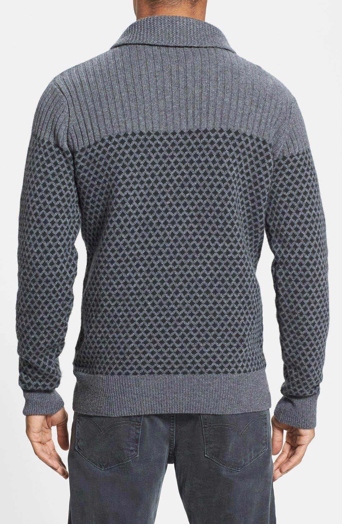 Alternate Image 2  - Barbour 'Windale' Regular Fit Wool Shawl Collar Sweater