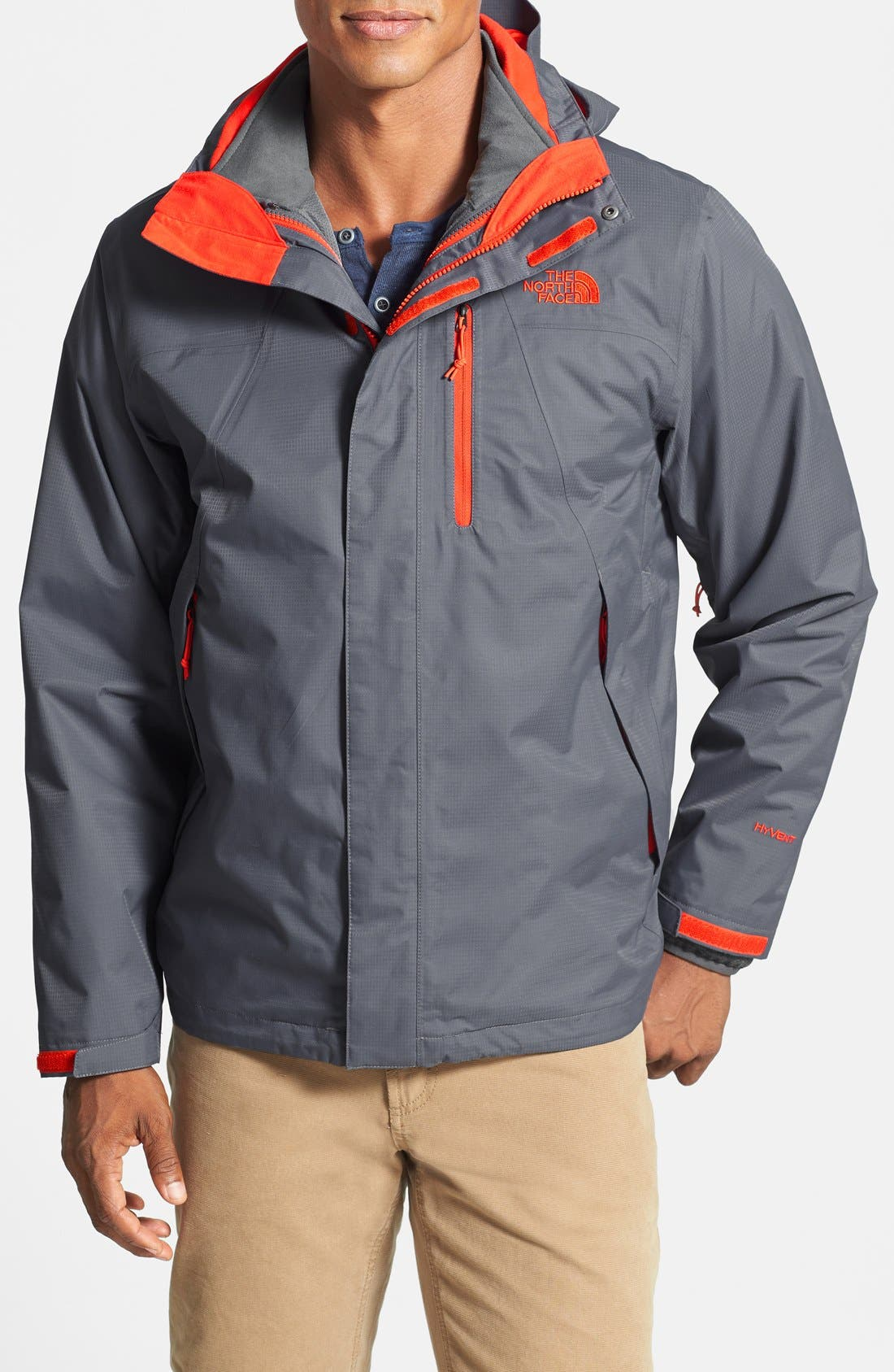 Main Image - The North Face 'Canyonwall TriClimate' 3-in-1 Waterproof Hooded Jacket